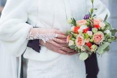 Букет венчания невесты Стоковое фото RF
