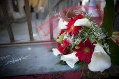 Букет выпускного дня стоковая фотография