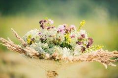 Букет лета wildflowers Стоковые Изображения