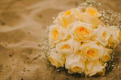 Букет желтого Розы Стоковое Изображение RF