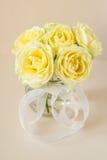 Желтые розы Стоковое Изображение RF