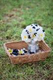 Букет и торты цветка ежевики Стоковые Изображения RF