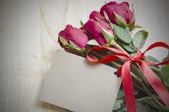 Букет красных роз Стоковые Фотографии RF