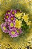 Букет красочных цветков осени Стоковое Изображение