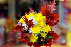 Букет осени цветков Стоковое Фото