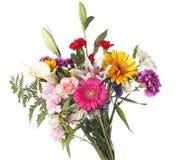 букет отрезал шикарные цветки Стоковые Фотографии RF