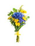Букет от голубых гортензий Стоковые Фото