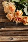 Букет померанцовых роз Стоковые Фото