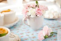 Букет розовых гвоздичных деревьев Стоковые Изображения