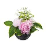 Букет розовых peonies Стоковое Изображение
