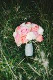 Букет Розы пинка Стоковая Фотография RF