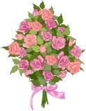 Букет роз Стоковая Фотография RF
