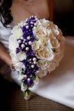 Букет свадьбы искусственных цветков стоковая фотография