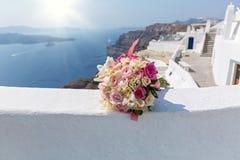 Букет свадьбы невеста Стоковые Изображения RF