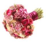 Букет свадьбы с Astrantia, Skimma, капустой, кустом роз, побежал Стоковое Фото