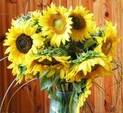 Букет солнцецвета Стоковое Изображение