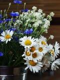 Букет с cornflower стоковые фото