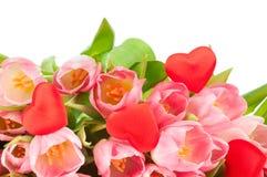 Букет тюльпанов Стоковые Изображения RF