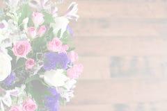 Букет фиолетовых и розовых цветков Стоковые Фотографии RF