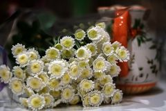 Букет хризантемы стоковое фото