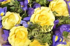букет цветет весна Стоковое Фото