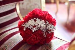 букет цветет красный цвет Стоковые Изображения RF