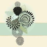 букет цветет листво Стоковая Фотография
