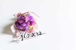 букет цветет пинк Стоковые Фото