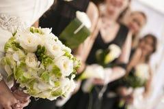 Букет цветка свадьбы Стоковое Фото