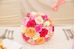 Букет цветка свадьбы Стоковое Изображение