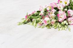 Букет цветка Lisianthuses Стоковое Изображение RF