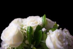 Букет цветков белой розы Стоковое Фото