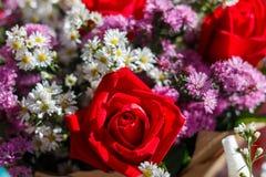 Букет цветков, букет, цветки Стоковое фото RF