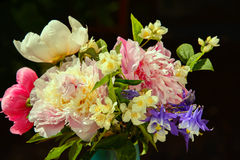 Букет цветков лета Стоковые Фотографии RF