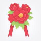 Букет цветков иллюстрация штока