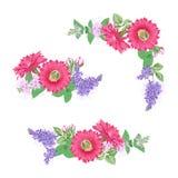 Букет экзотического цветка Стоковые Изображения