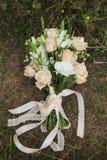 Букет bridal цветков свадьбы Стоковое фото RF