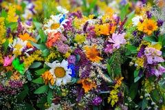 Букет wildflowers Стоковое Изображение RF