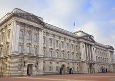 Букингемский дворец Стоковое Изображение