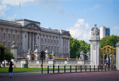 Букингемский дворец Стоковые Фотографии RF