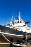 2 буксира в гавани Стоковые Фото