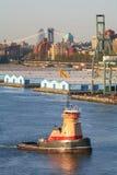 Буксир Reinauer в Нью-Йорке Стоковое фото RF