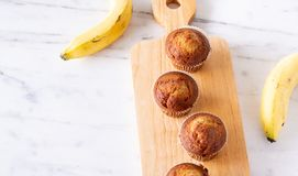 Булочка Брайна или торт банана Стоковые Изображения RF