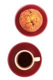 булочка кофейной чашки Стоковое фото RF