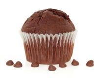 булочка шоколада обломока Стоковое Фото