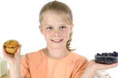 булочки голубики стоковые фото