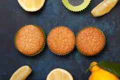 Булочки лимона Стоковые Фото