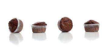 булочки шоколада обломока белые Стоковая Фотография RF