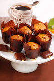 булочки шоколада обломока Стоковые Фотографии RF