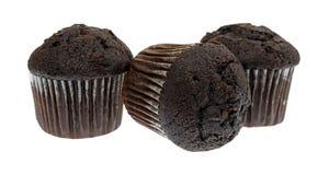 Булочки шоколада размера укуса Стоковое Фото